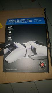RAPTOR PS5 PS4 Controller Ladestation