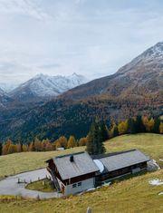 Hütte Alpe gesucht