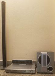 DVD- und CD-Player mit Soundanlage