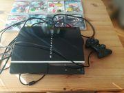Playstation 3mit 8Spiele