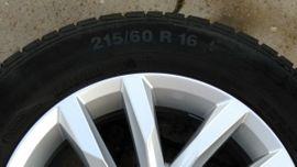 Allwetter 195 - 295 - Alufelgen 16 Zoll original VW
