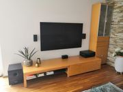 Hülsta Wohnwand Lowboard TV Buche