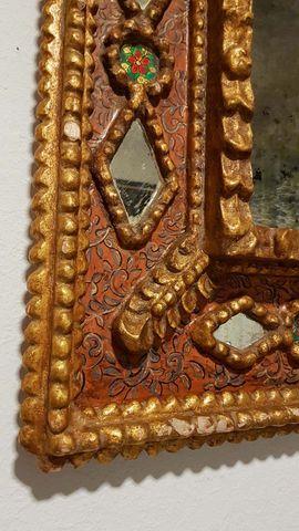 Antiker uriger Spiegel Dekoration Bild: Kleinanzeigen aus Nürnberg Gibitzenhof - Rubrik Sonstige Antiquitäten