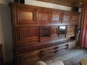 Wohnzimmerschrank Eiche rustikal aus den