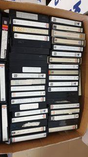 Über 350 bespielte Betamax Kassetten