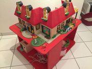 Playmobilhaus mit Spielerhöhung