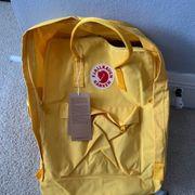 Fjallraven Rucksack gelb
