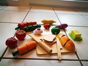 Obst und Gemüse zum schneiden