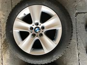 Alufelgen mit Winterreifen BMW F10
