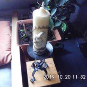 Kerzenständer mit Maria Kerze