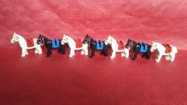 Lego Pferde mit Sattel