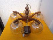 Deckenlampe holz 5-armig -flammig Durchmesser
