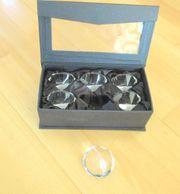 6 Tischkartenhalter Hochzeit Bildhalter Diamantenform