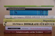 9 x Fotoliteratur diverse Bücher