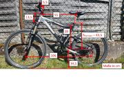 MTB Mountainbike Fully vollgefedert Steppenwolf