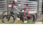 MTB Mountainbike Fully vollgefedert Steppenwolf
