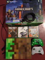 Xbox One S Limited Minecraft