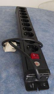 Steckdosenleiste 10-fach Brennenstuhl - kurzes Kabel