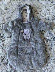 JACKY Baby Wagensack Kuschelig warm