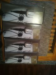 4 x Wandkerzenhalter