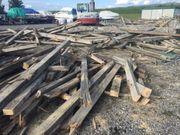 Holz zu verschenken- Abbruch
