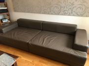 TOP Big Sofa in Braun