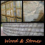 Granit WANDVERKLEIDUNG Mauersteine