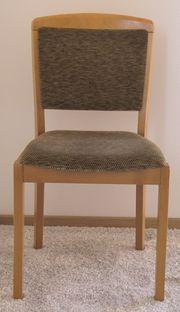 4 Stühle Buche-Massivholz