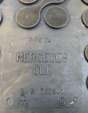 Mercedes Benz GLE Kofferraummatte Kofferraum230942