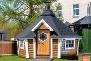 Grillhütte Grillkota 9 2m² konisch