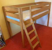 Hochwertiges massivholz Kinder-Etagenbett Hochbett 90
