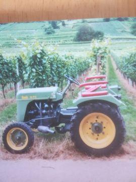 Traktoren, Landwirtschaftliche Fahrzeuge - Bautz Traktor Baujahr 1952 Motorenwerke