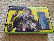 Xbox ONE X Konsole Cyberpunk