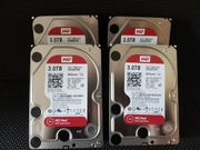 4 x WD Red 3TB