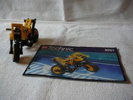 Spielzeug: Lego, Playmobil - 8251 Lego Technik Motorrad Sonic