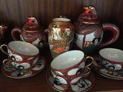 Altes Asiatisches Teeservice zu verkaufen