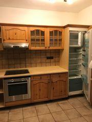 Küche incl Kühlschrank und Herd