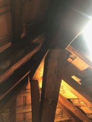 Kostenlos Holzbalken Dachstuhl