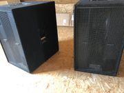 2x Electro Voice MTL2 Subwoofer