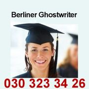 Bachelors Master Doktor Berliner Ghostwriter
