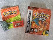 Pokemon Feuerrote Edition OVP GameBoy