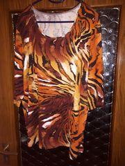 Shirt Gr 50 Savannenmuster