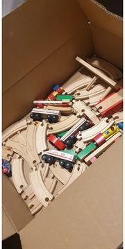 Holzeisenbahn zu verkaufen