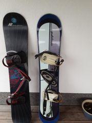 2 Snowboards 1 40 lang