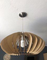Küchen Holz Lampe