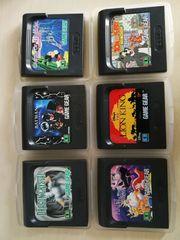 Sega GameGear-Games