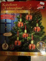 Lichterglanz LED Weihnachtsbaum Kugel Beleuchtung