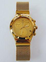 Swatch Unisex Chronograph Quarz Uhr