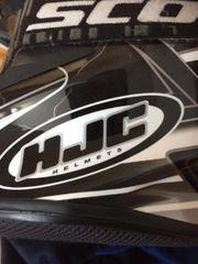Motorradhelm HJC inkl Brille