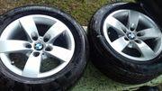 1 Satz BMW-Komplett-Alufelgen mit Sommerreifen